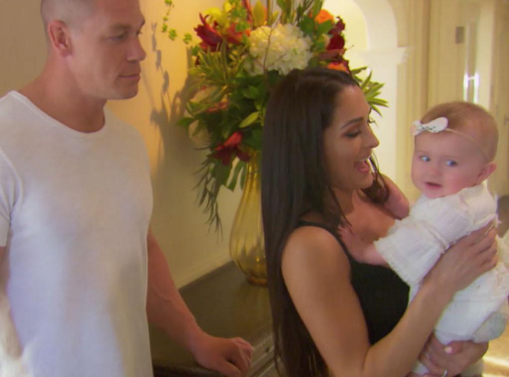 Nikki Bella, John Cena, Birdie, Total Bellas 301
