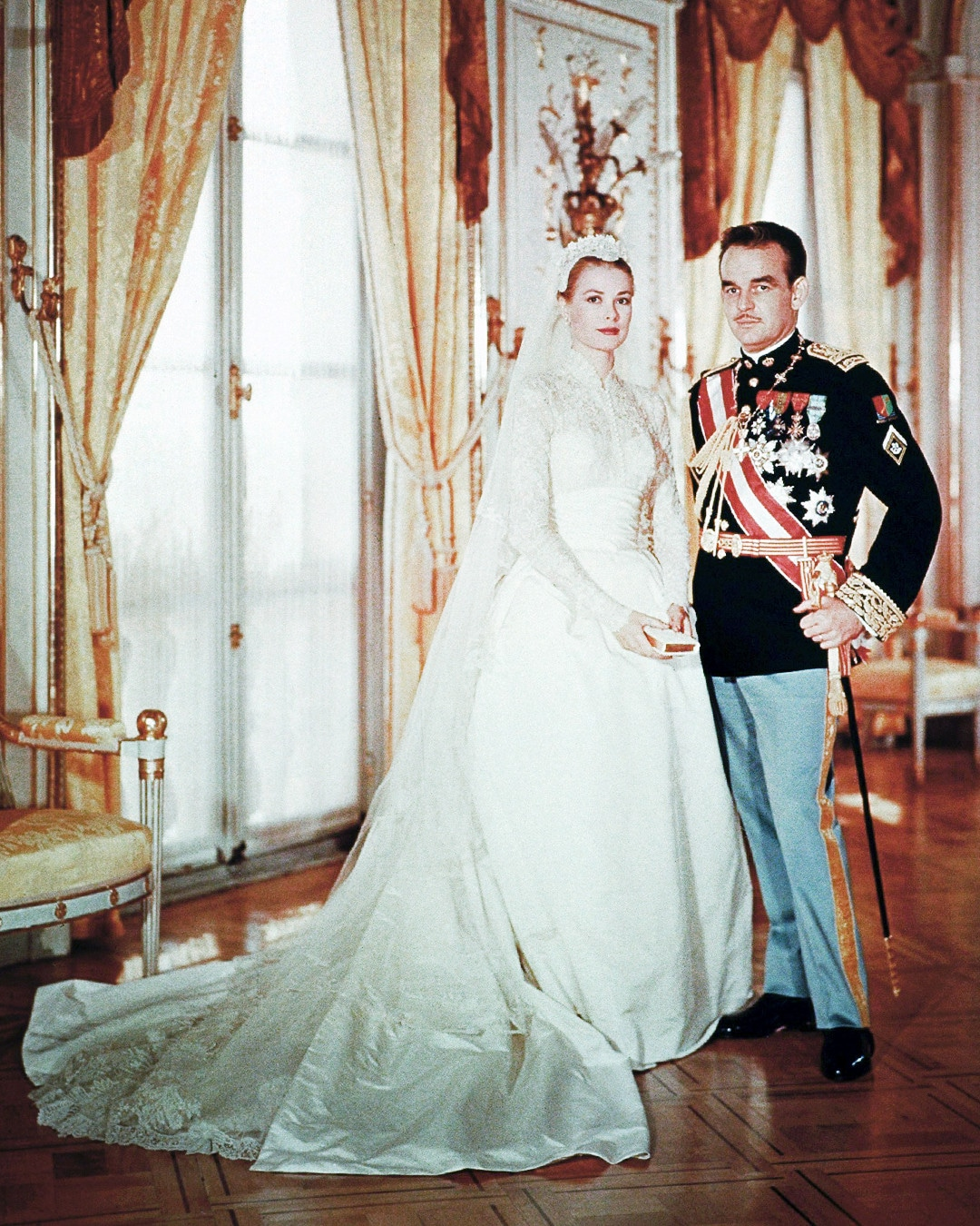 ESC: Grace Kelly, princess Grace, Wedding, Rainier III