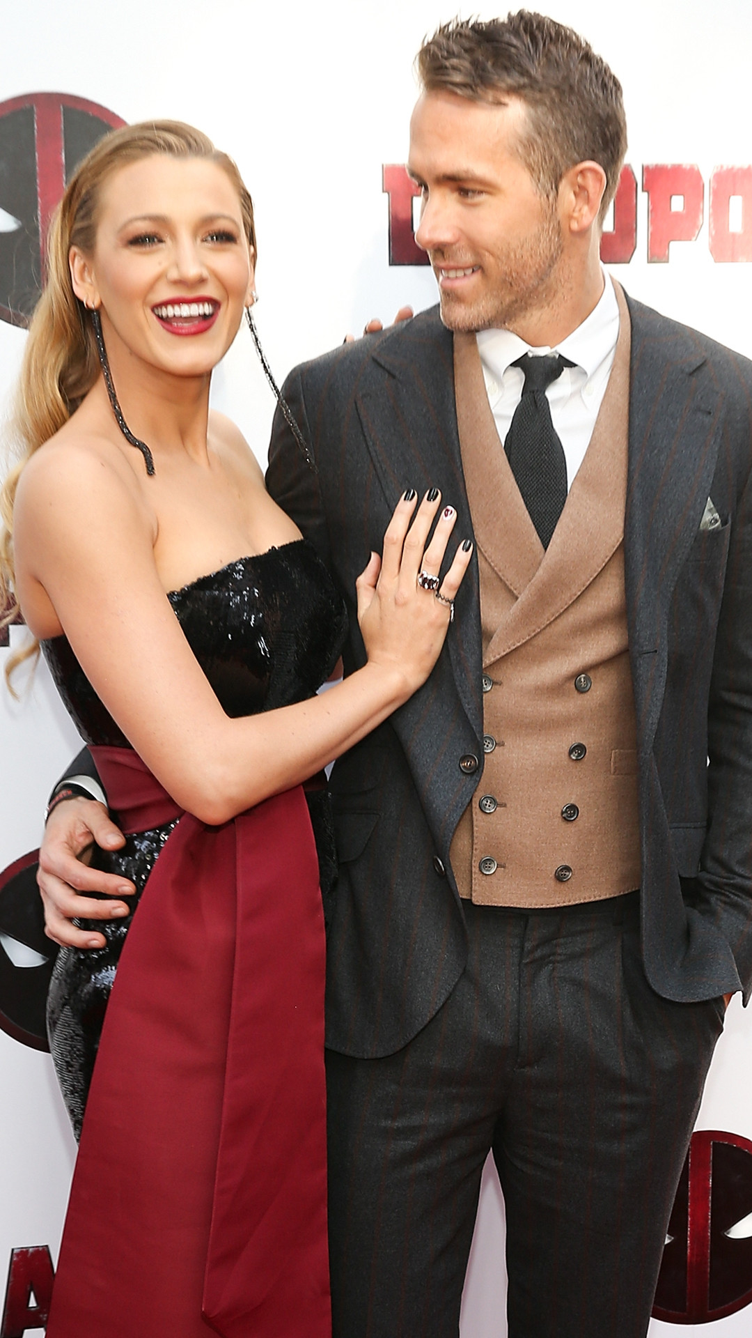 Blake Lively, Ryan Reynolds, Deadpool 2 Premiere