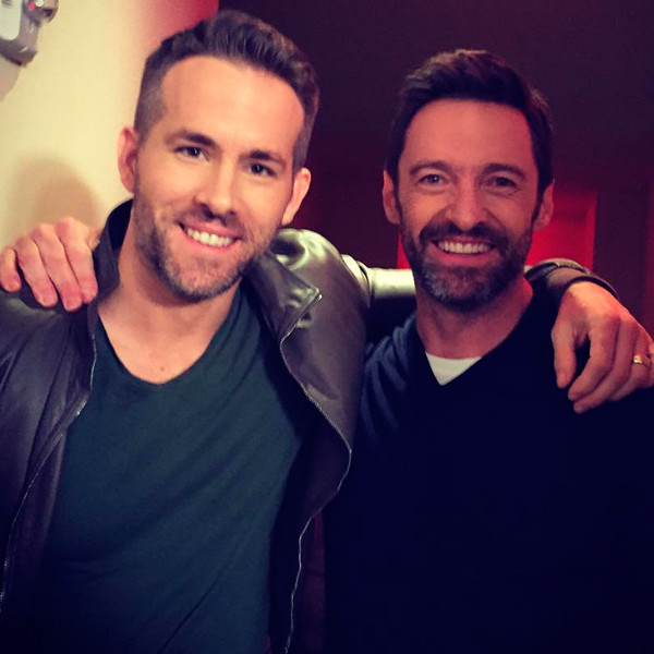 Ryan Reynolds, Hugh Jackman, Instagram