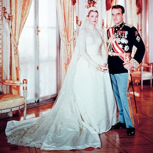 ESC: Grace Kelly, princess Grace, Wedding, Rainier III