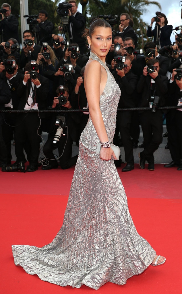 Image result for cannes film festival 2018 Bella Hadid