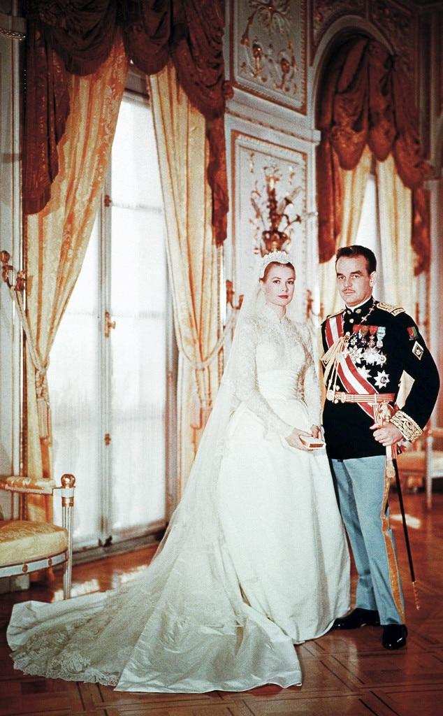 Princess Grace of Monaco from The Best Royal Wedding Dresses | E! News
