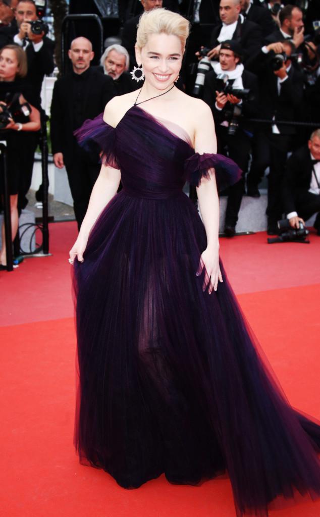 ESC: Cannes 2018, Emilia Clarke