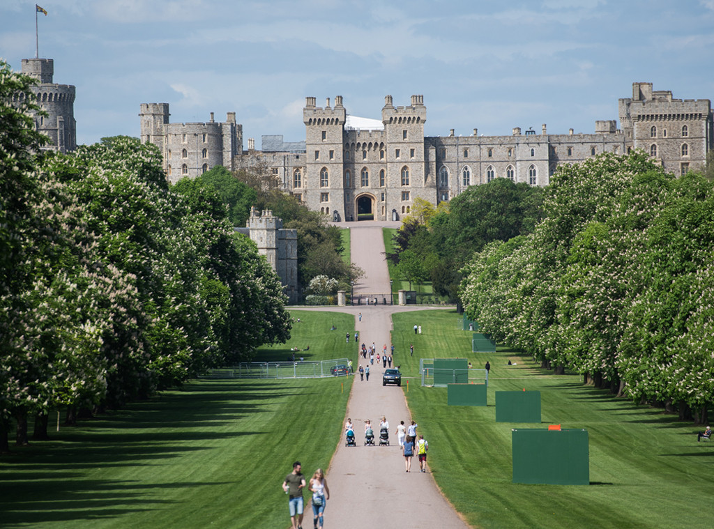 Long Walk, Windsor Castle, Royal Wedding