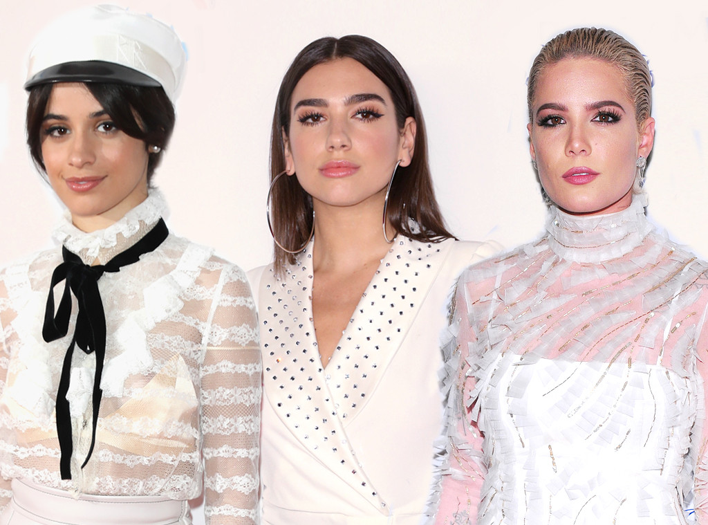 Halsey, Dua Lipa and Camila Cabello