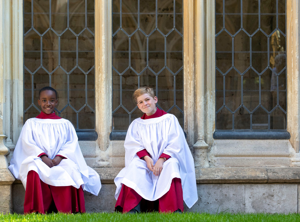 St. Georges Chapel Choir, Nathan Mcharo, Leo Mills, Royal Wedding