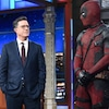 Ryan Reynolds, Deadpool, Stephen Colbert, The Late Show