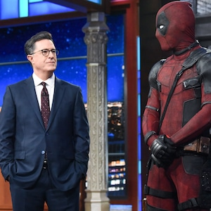 Ryan Reynolds, Deadpool, Stephen Colbert, The Late Show