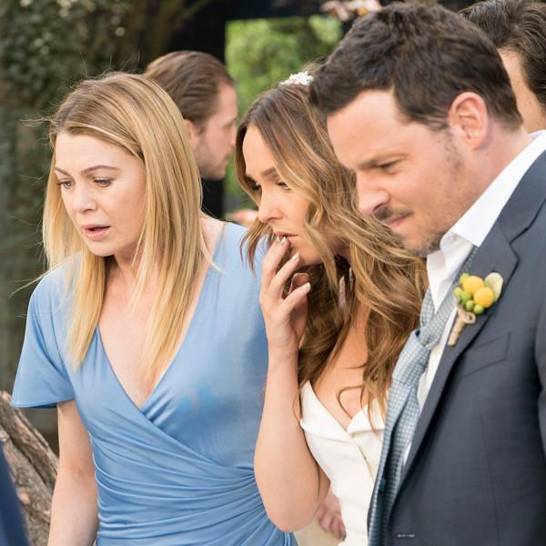 Camilla Luddington, Justin Chambers, Grey's Anatomy Season 14