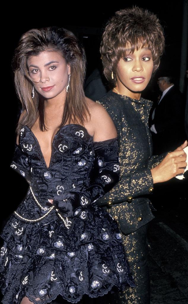 Paula Abdul, Whitney Houston