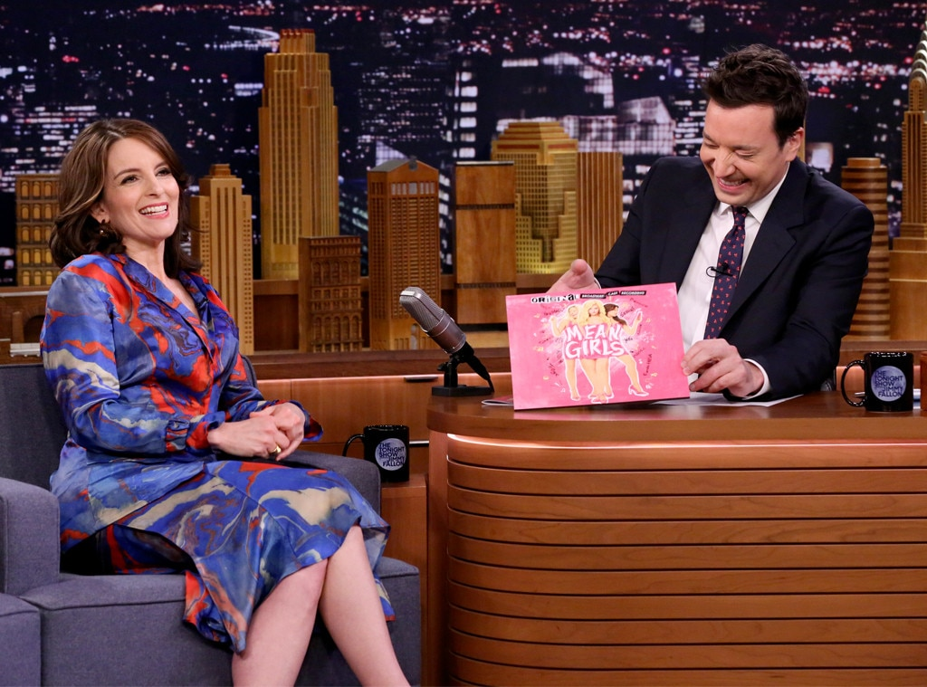 Tina Fey, Jimmy Fallon, The Tonight Show
