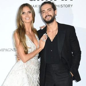 Heidi Klum, Tom Kaulitz, amfAR, 2018 Cannes Film Festival