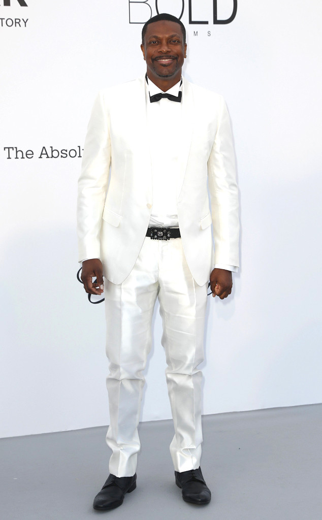 Chris Tucker, amfAR, 2018 Cannes Film Festival