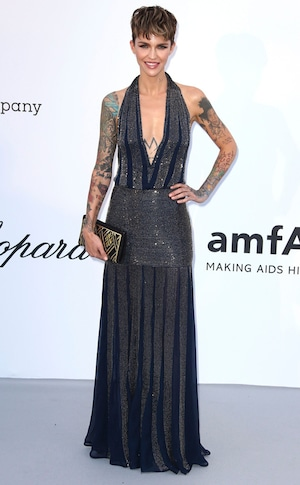 Ruby Rose, amfAR, 2018 Cannes Film Festival