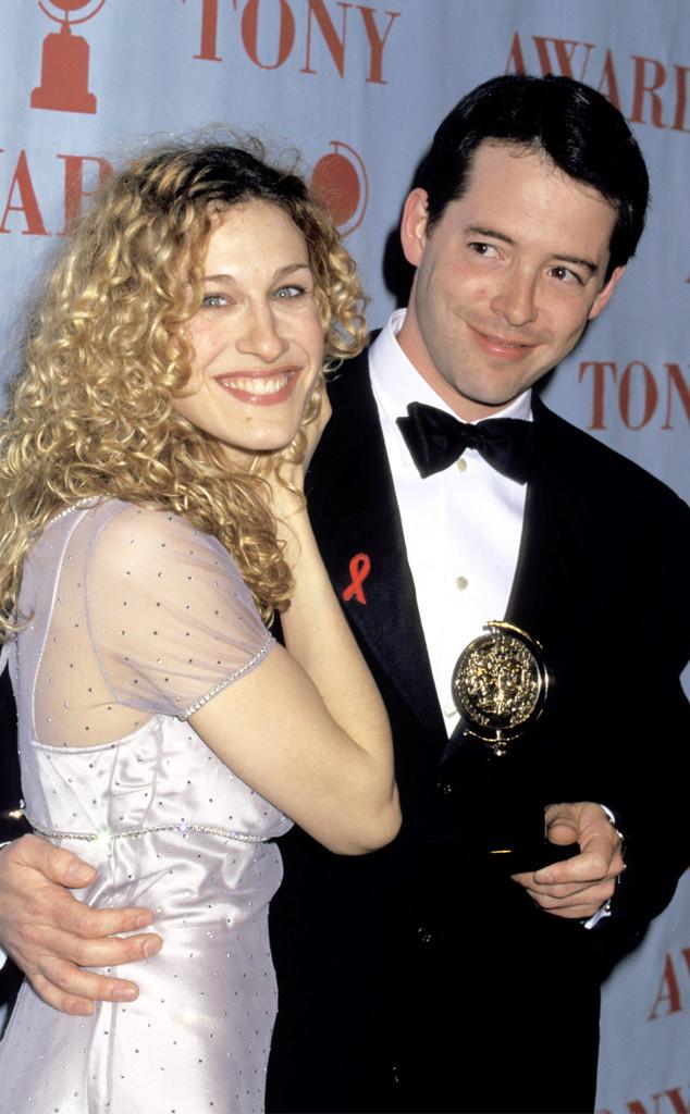 Matthew Broderick, Sarah Jessica Parker, 1995 Tony Awards