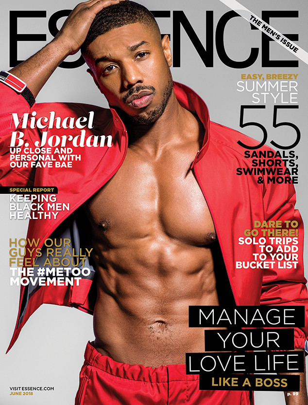 7cc3ed5c394a Michael B. Jordan Calls Out the Real Hero Behind His Shirtless ...