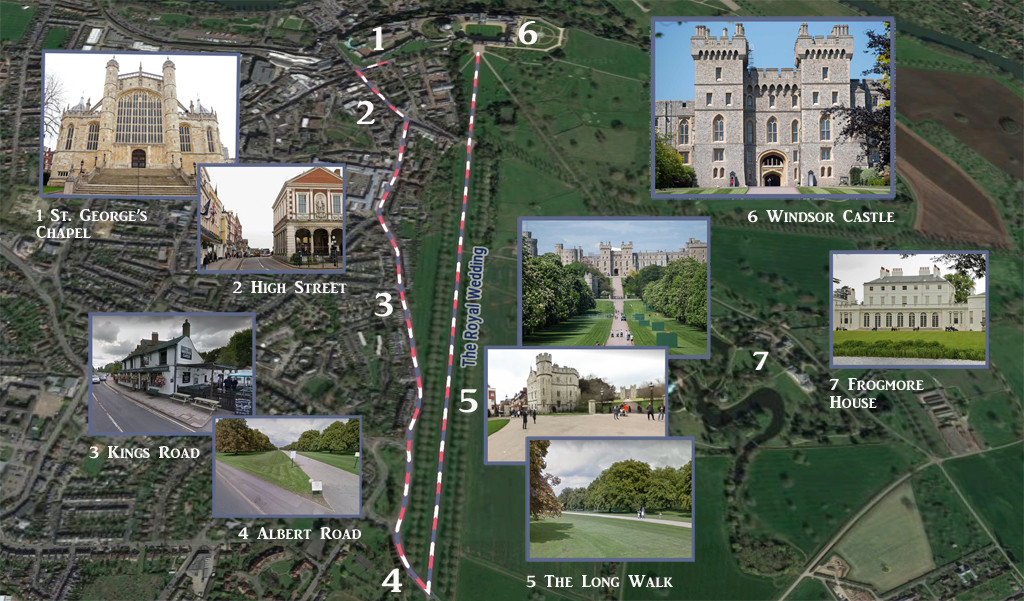 Royal Wedding Route