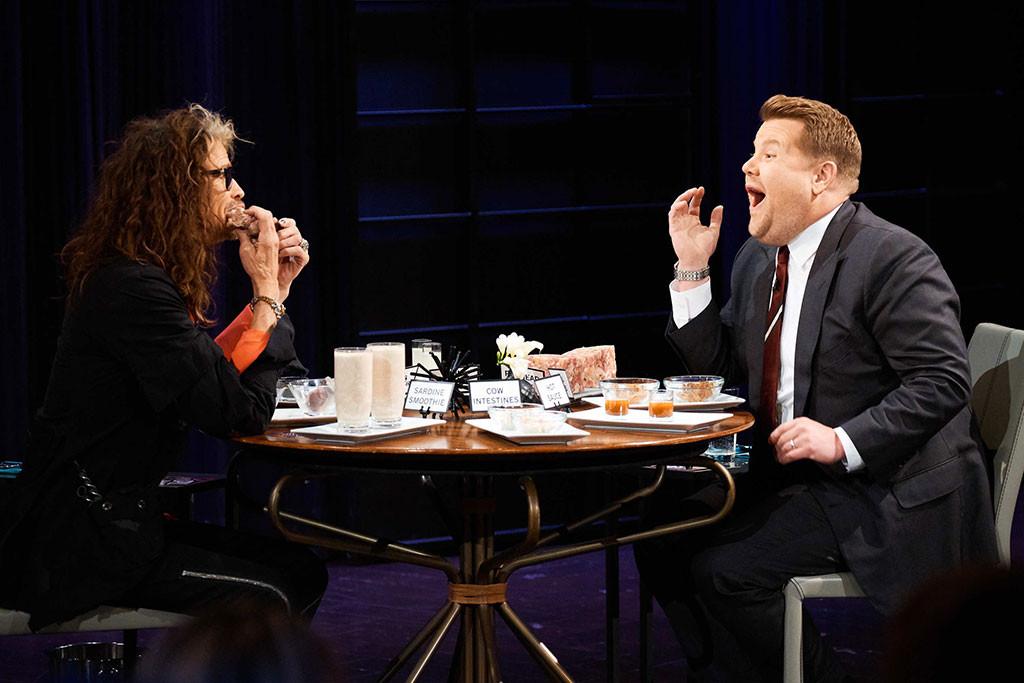 James Corden, Steven Tyler, Late Late Show