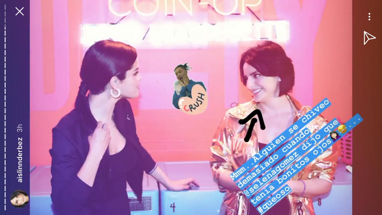 Aislinn Derbez, Selena Gomez, evento PUMA