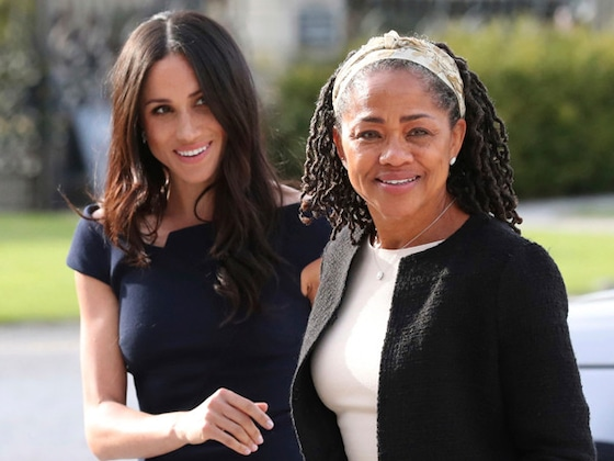 "Meghan Markle's Mom ""Very Happy"" About the Duchess' Pregnancy"