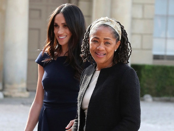 Meghan Markle's Mom Doria Ragland Reportedly Arrives in London as Due Date Nears