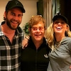 Elton John, Miley Cyrus, Liam Hemsworth