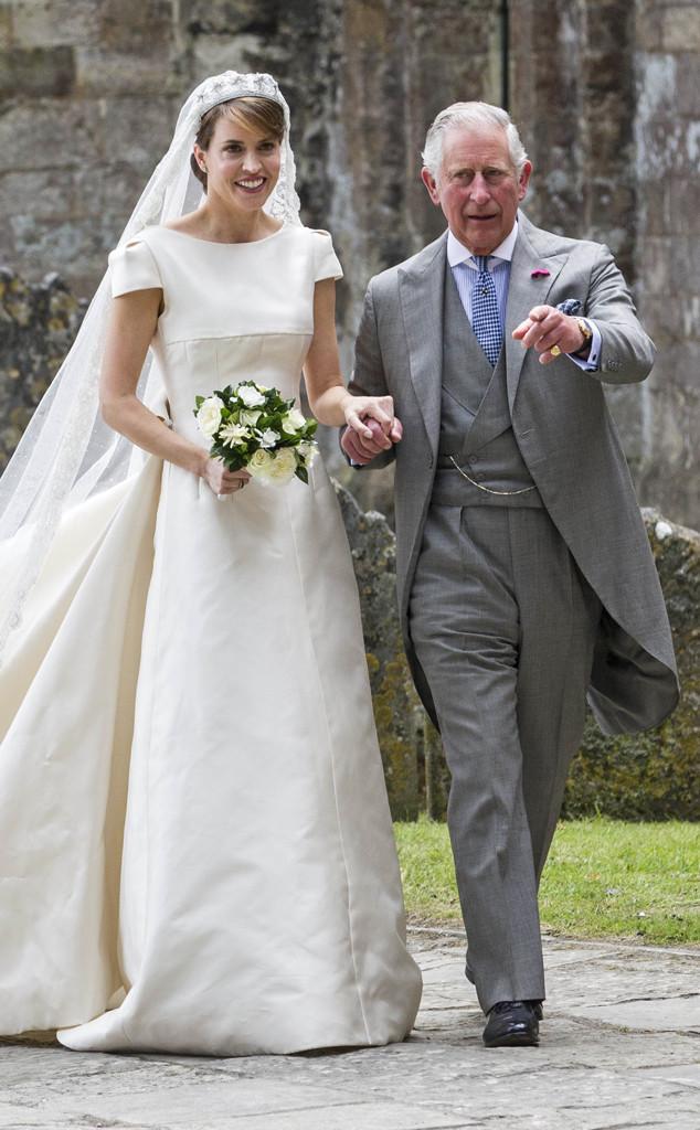 Prince Charles, Alexandra Knatchbull, wedding