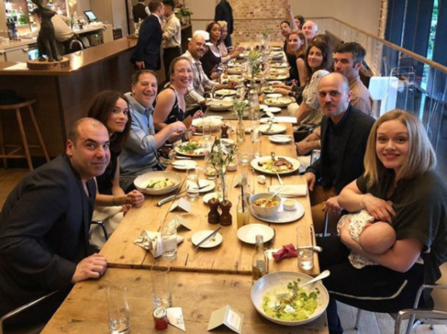 meghan markle s suits family enjoys one last supper before the royal