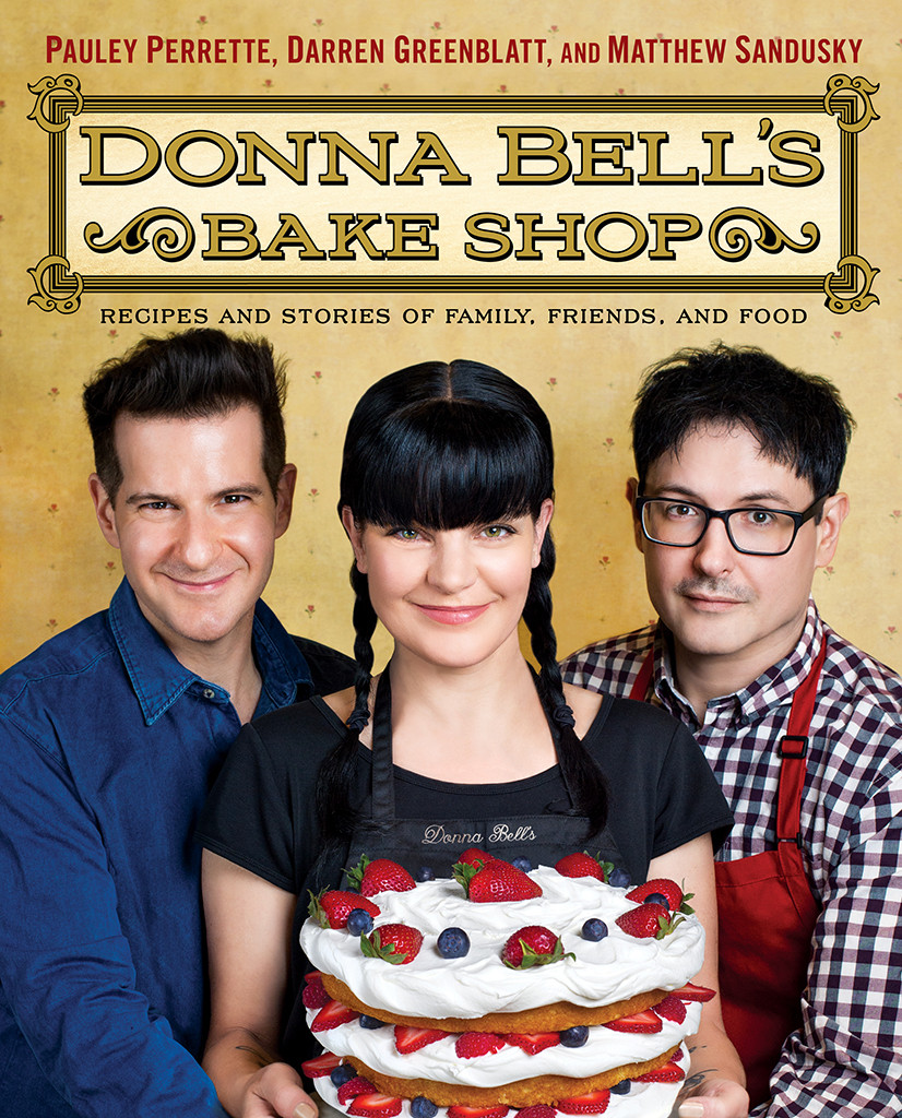 Pauley Perrette, Donna Bell's Bake Shop, book cover