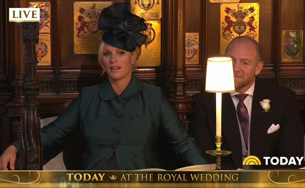 Zara Tindall, Royal Wedding, Reactions