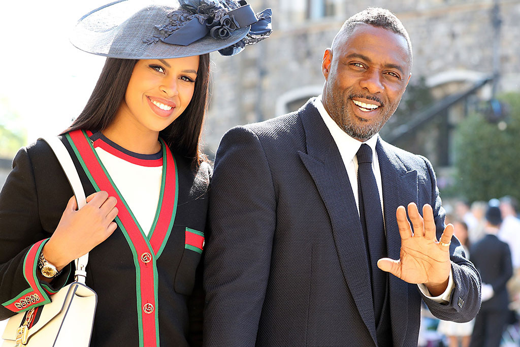Oprah Winfrey, Idris Elba, Royal Wedding