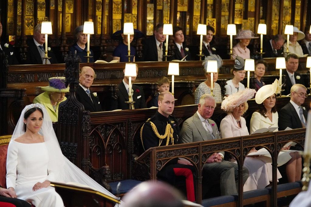 Meghan Markle, Prince Harry, Royal Wedding, Empty Seat