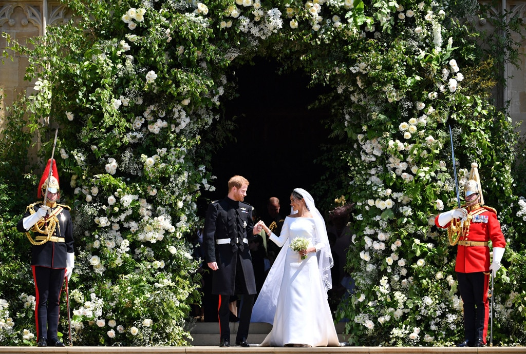 Meghan Markle & Prince Harry -  The  most talked about wedding of the year  was everything the world was hoping for and more, from the  inspiring sermon  by the American bishop Most Rev. Michael Bruce Curry and the embedded tributes to Princess Diana to the bride's  Givenchy gown  (and the  Stella McCartney dress  she changed into), the groom's  heart-melting asides  and the  reemergence of Fergie . May 19, 2018, had it all—or at least just enough to tide everyone over until their royal baby arrives in 2019.