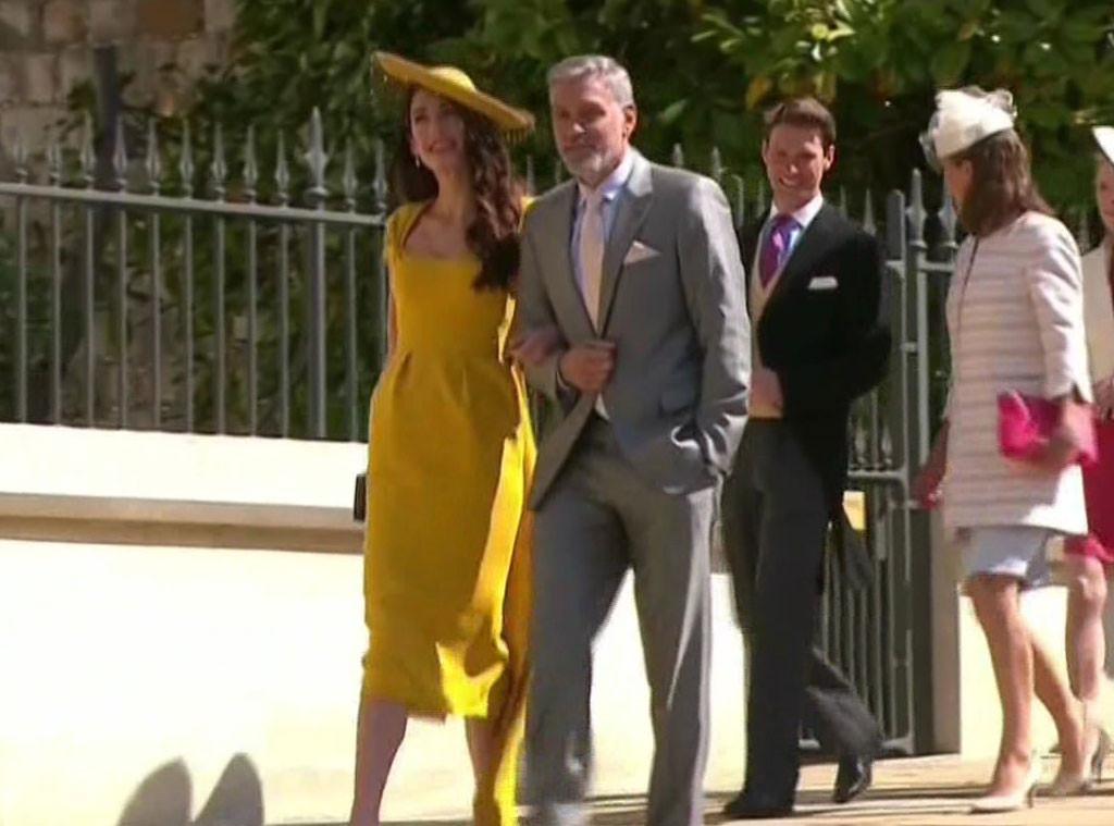 Amal Clooney, George Clooney, David Beckham, Victoria Beckham