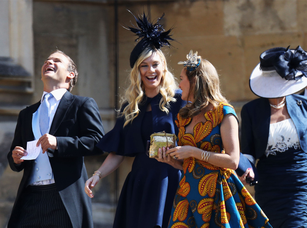 Chelsy Davy, Royal Wedding Arrivals