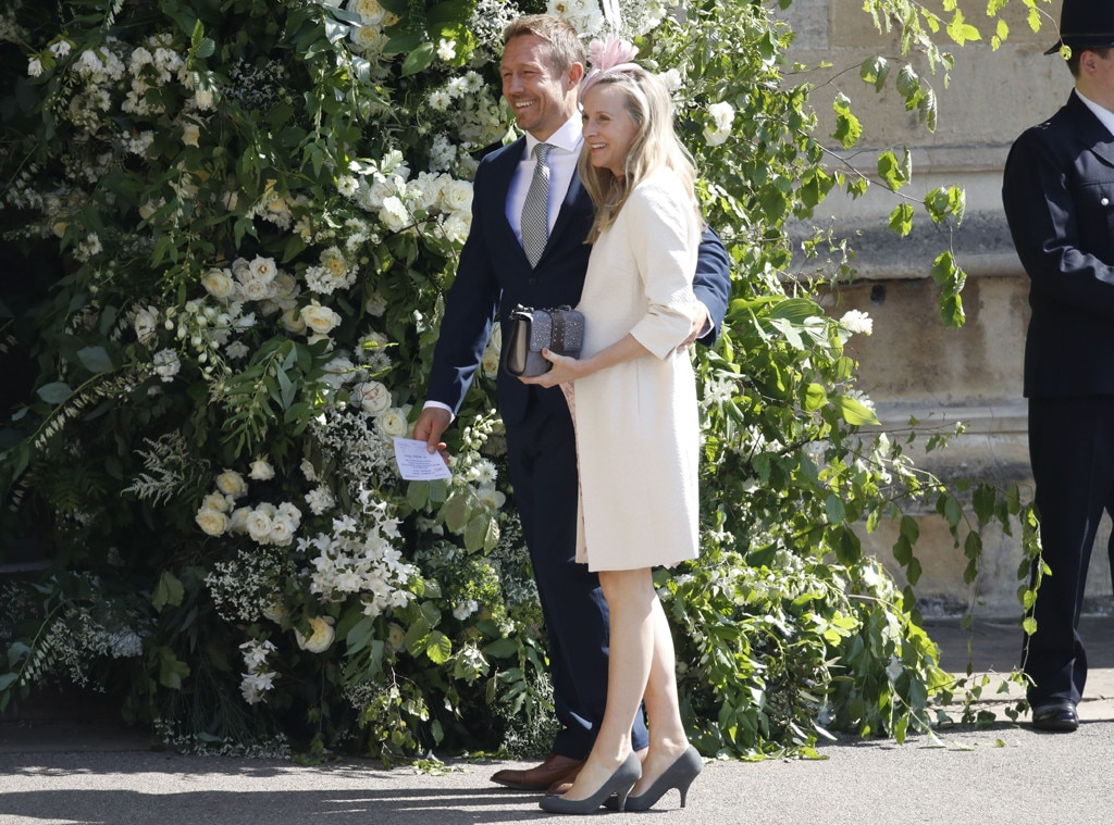 Jonny Wilkinson, Shelley Jenkins, Royal wedding Arrivals