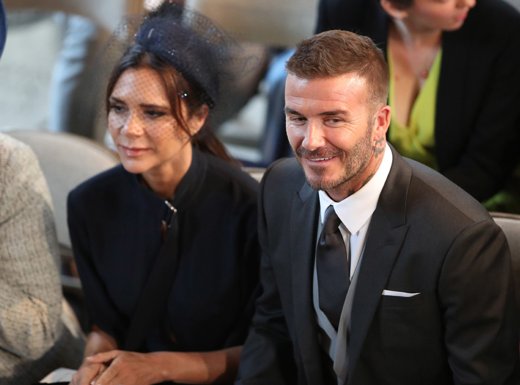 David Beckham, Victoria Beckham, Royal Wedding, Inside Chapel