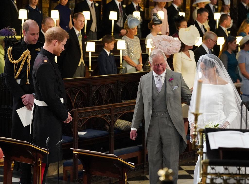 Prince William, Prince Harry, Prince Charles, Meghan Markle, Royal Wedding, Chapel