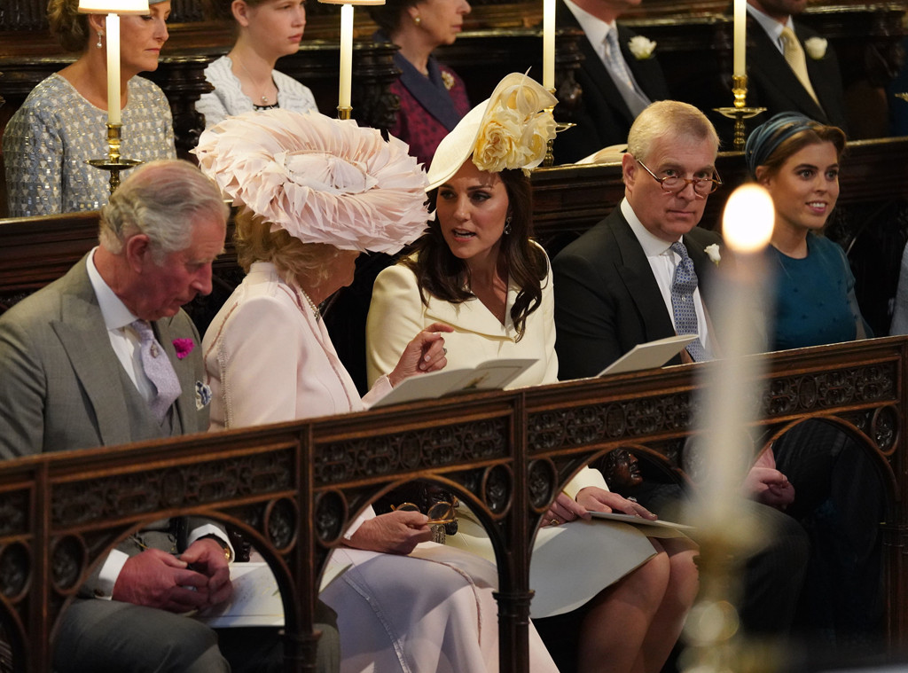Prince Charles, Camilla Parker-Bowles, Kate Middleton, Prince Andrew, Princess Beatrice, Royal Wedding