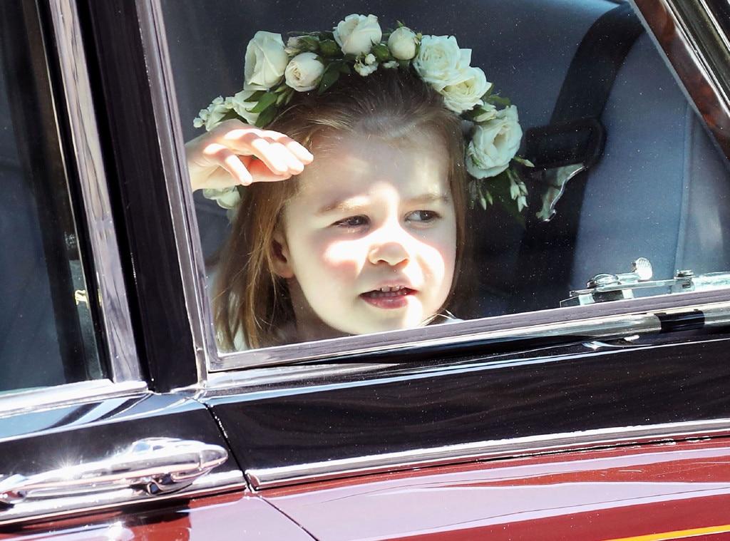 Princess Charlotte, Royal Wedding