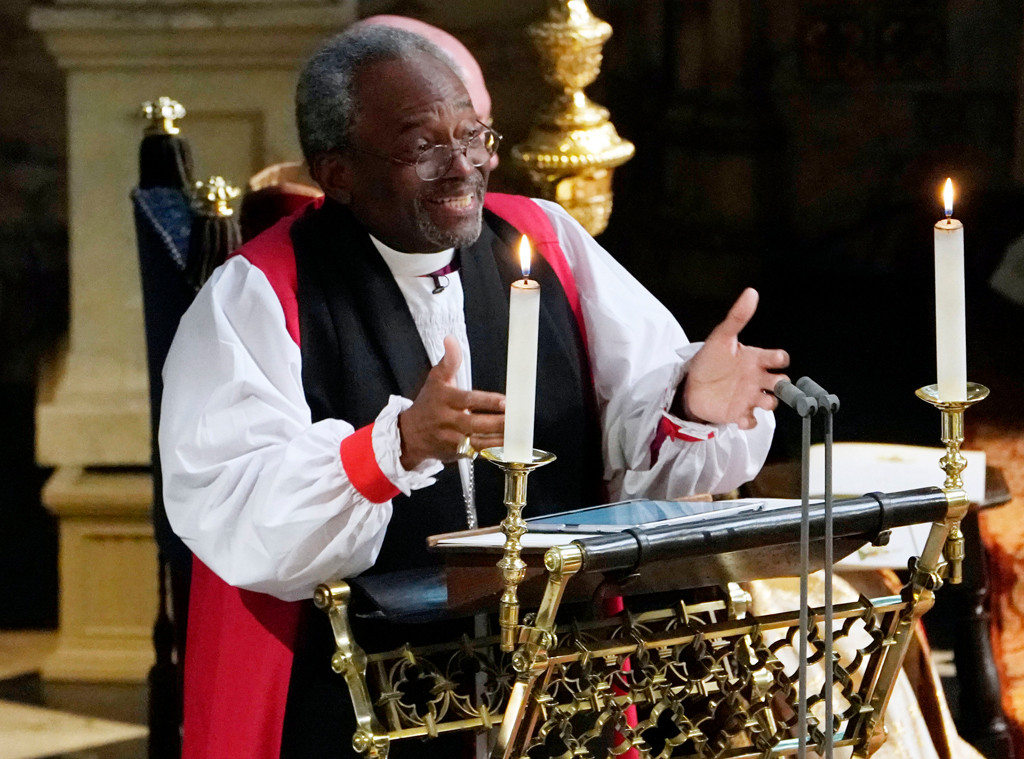 Rev Bishop Michael Curry, Royal Wedding