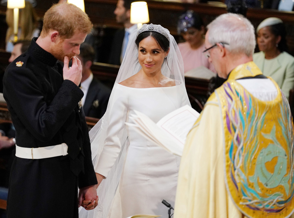 how meghan markle americanized the royal wedding the songs the cake and all those celebrity guests e online uk e online