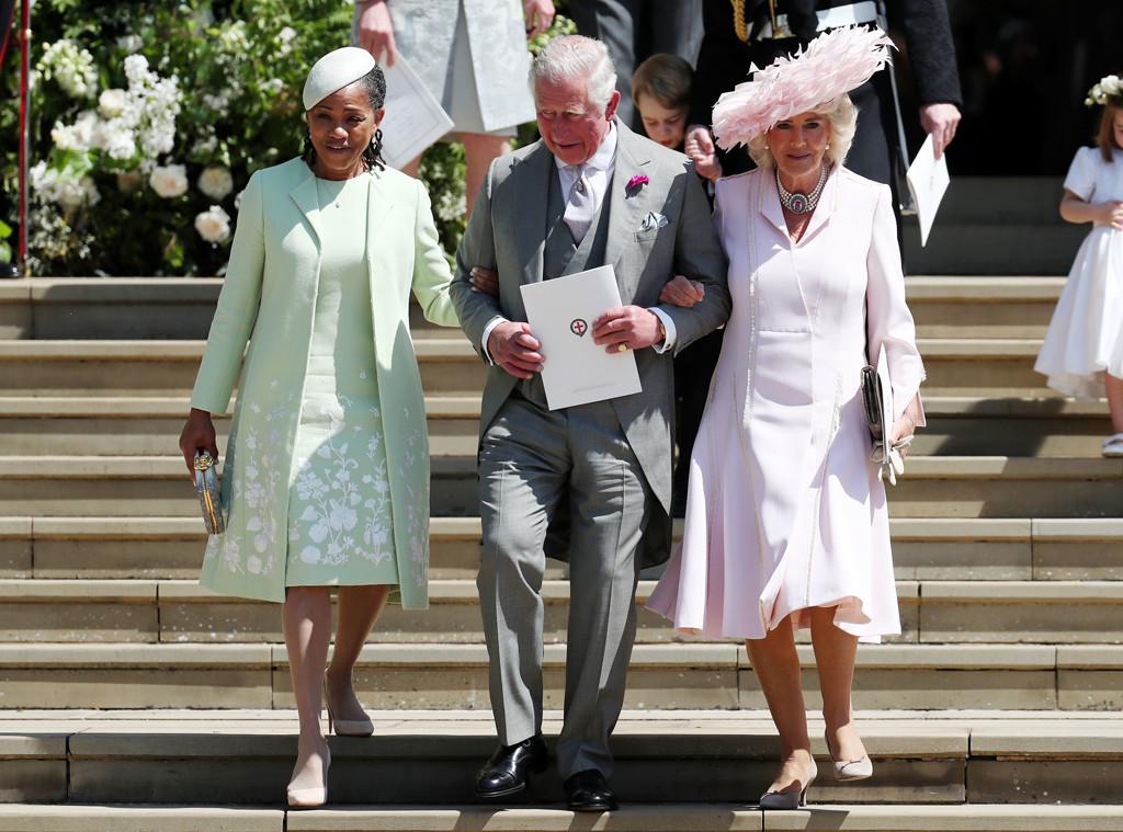 Doria Ragland, Prince Charles, Camilla Parker-Bowles, Royal Wedding, Guests, Arrivals