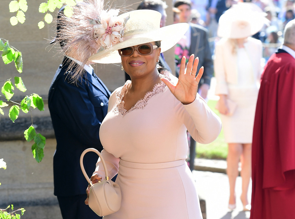 Oprah Winfrey, Royal Wedding Arrivals