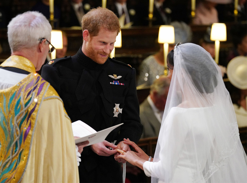 Image result for prince harry and meghan markle wedding