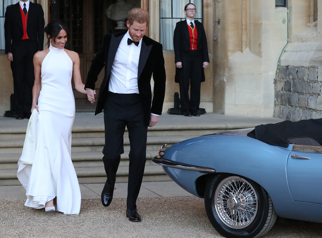 inside meghan markle and prince harry s wedding reception e online inside meghan markle and prince harry s