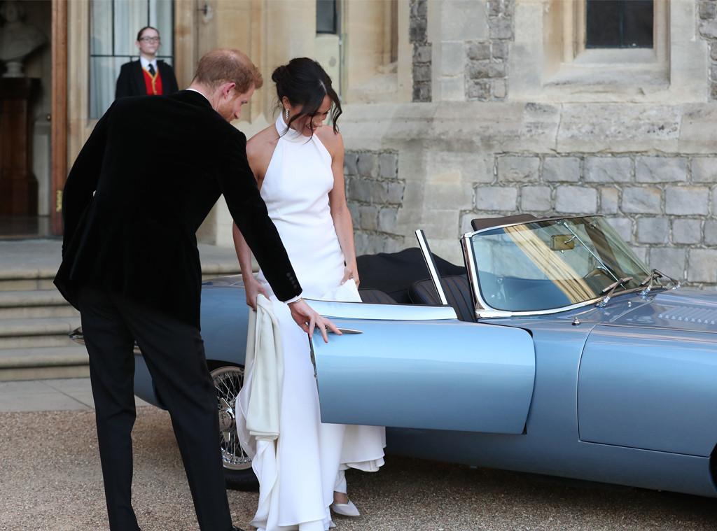 Prince Harry, Meghan Markle, Royal Wedding, Reception