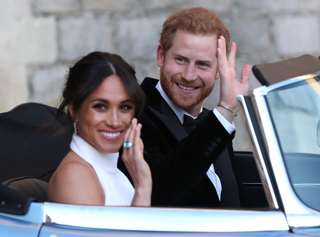Prince Harry, Meghan Markle, Royal Wedding, Reception