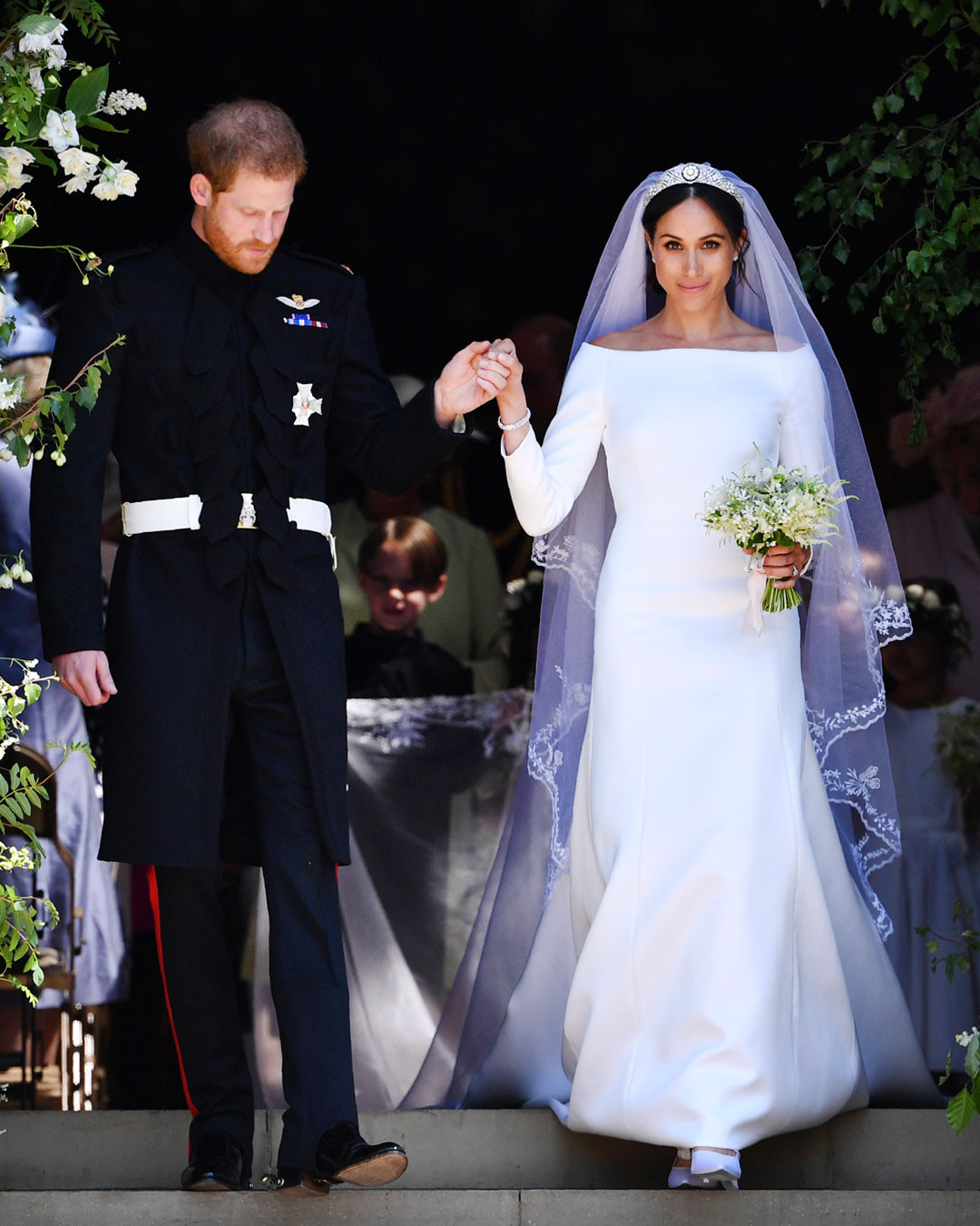 How Meghan Markle Bent the Royal Style Rules on Her Wedding Day